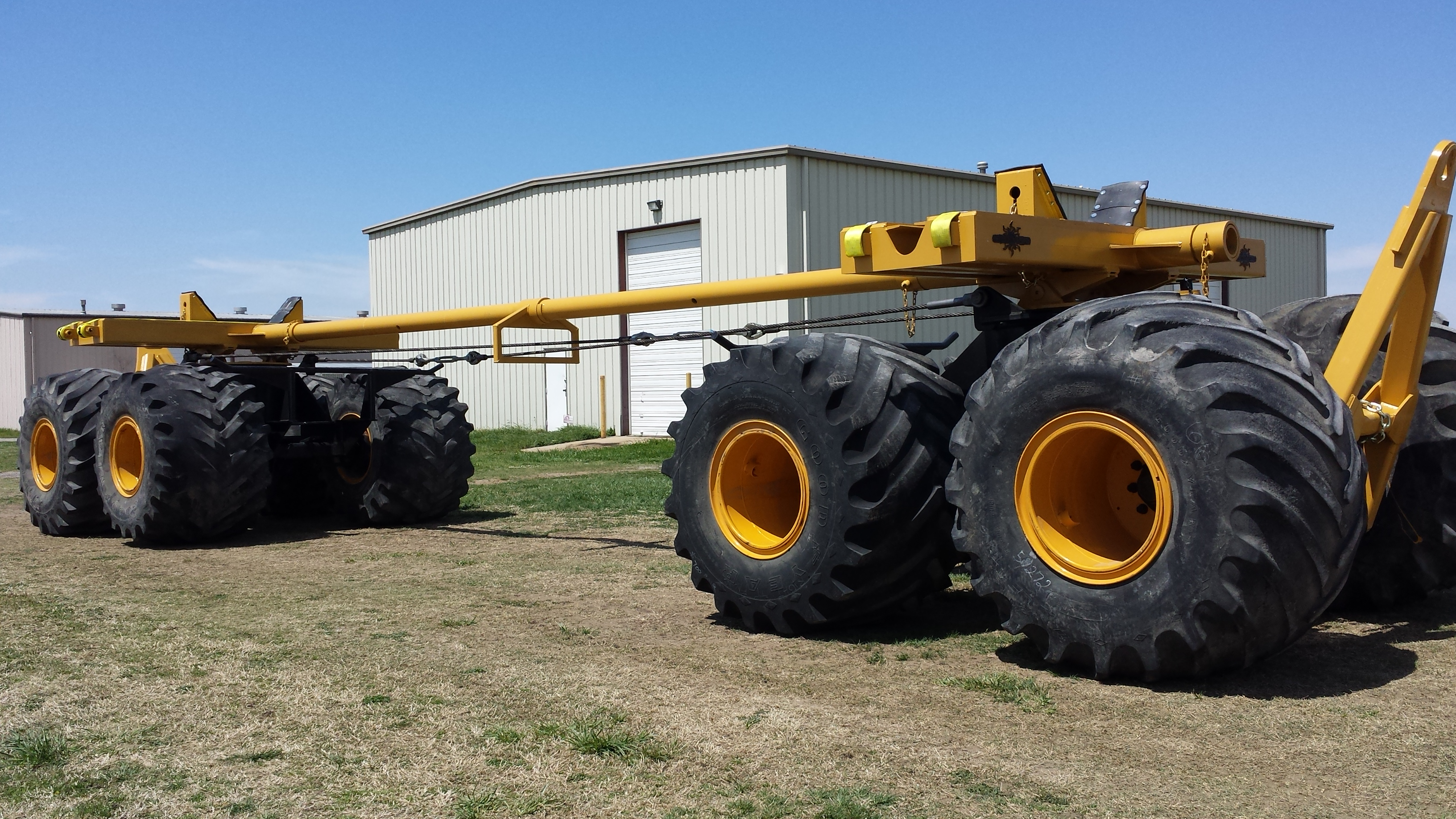 Challenger Services Low Ground Pressure Trailers And Pipe